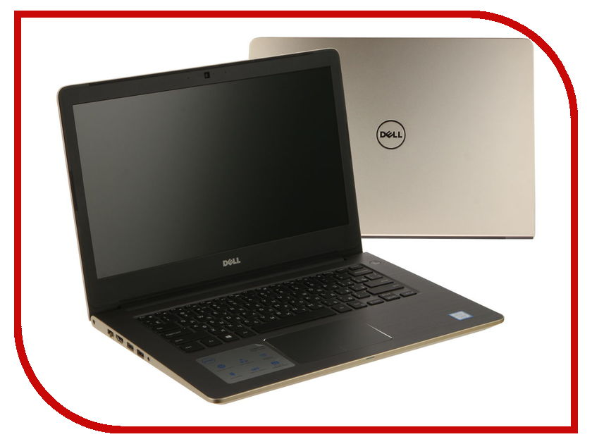 Ноутбук Dell Vostro 5468 5468-2884 Intel Core i3-7100U 2.4 GHz/4096Mb/500Gb/No ODD/Intel HD Graphics/Wi-Fi/Bluetooth/Cam/14.0/1366x768/Windows 10 64-bit<br>