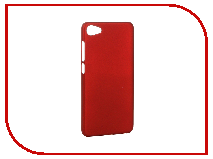 Аксессуар Чехол Meizu U10 SkinBox Shield 4People Red T-S-MU10-002<br>