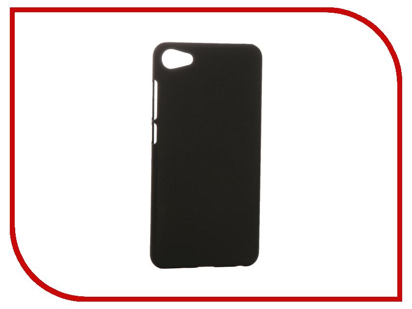 Аксессуар Чехол Meizu U10 SkinBox Shield 4People Black T-S-MU10-002