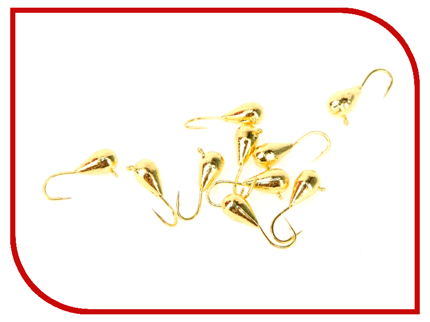 Аксессуар DIXXON капля с ушком d4 Gold 10шт 1140G<br>