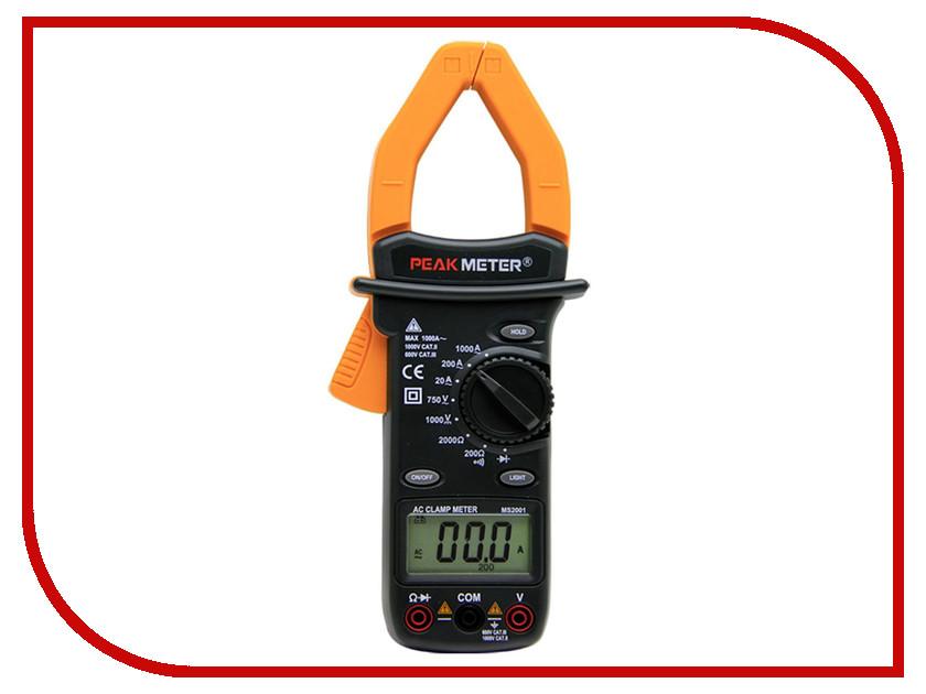 Токовые клещи PeakMeter MS2001