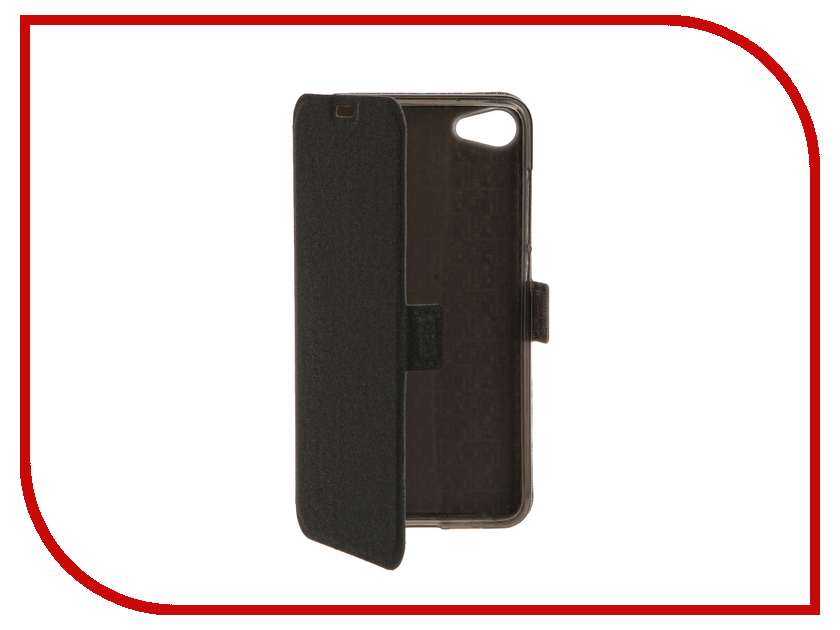 Аксессуар Чехол Meizu U10 SkinBox Prime Book Black T-P-MU10-05 стоимость