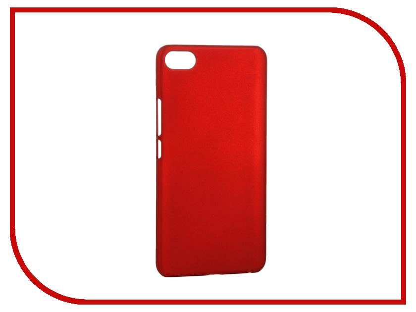 Аксессуар Чехол Meizu U20 SkinBox Shield 4People Red T-S-MU20-002