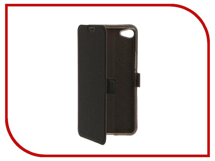 Аксессуар Чехол Meizu U20 SkinBox Prime Book Black T-P-MU20-05 стоимость
