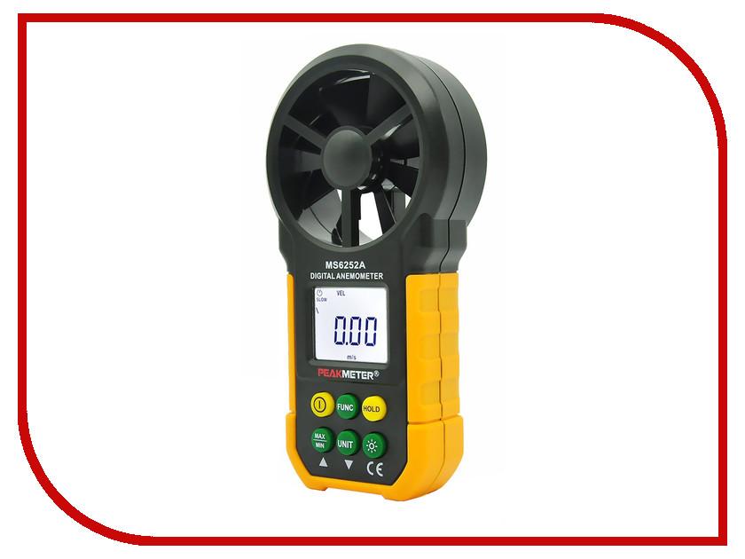 Анемометр PeakMeter MS6252A mastech ms6252a handheld lcd digital electronic wind speed meter