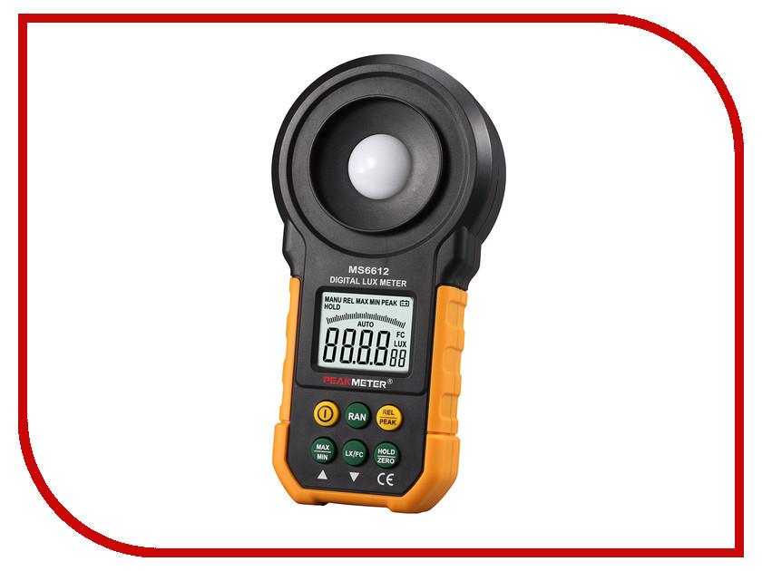 Измеритель освещенности PeakMeter MS6612 peakmeter pm6530a