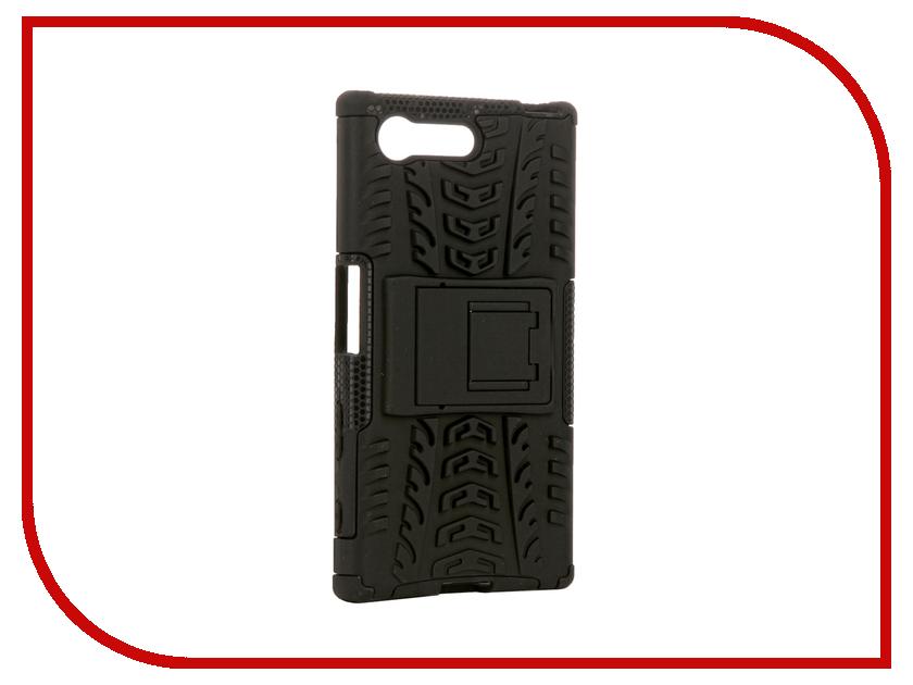 Аксессуар Чехол Sony Xperia X Compact SkinBox Defender Case Black T-S-SXXC-06<br>