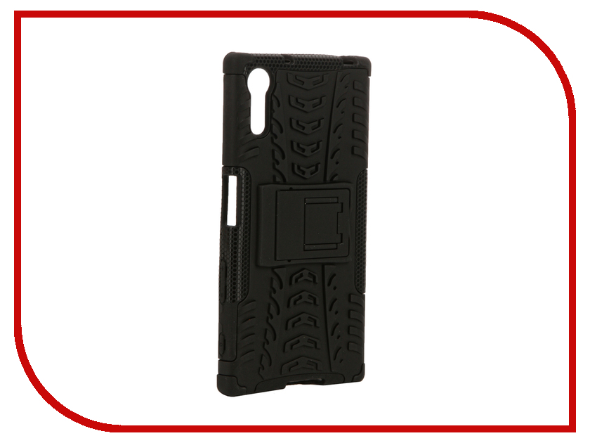 Аксессуар Чехол Sony Xperia XZ SkinBox Defender Case Black T-S-SXXZ-06