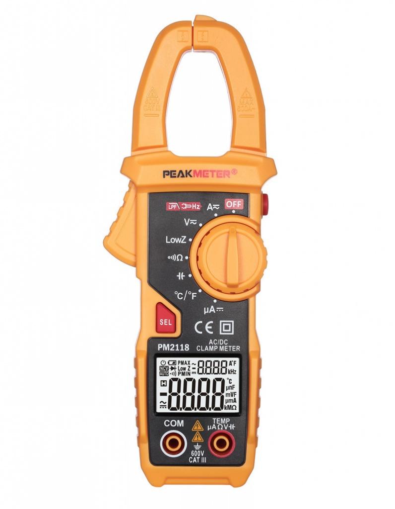 Токовые клещи PeakMeter PM2118 цена