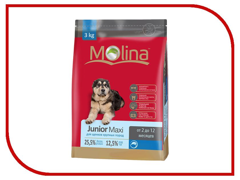 Корм Molina Junior Maxi 3kg для щенков крупных пород 0906