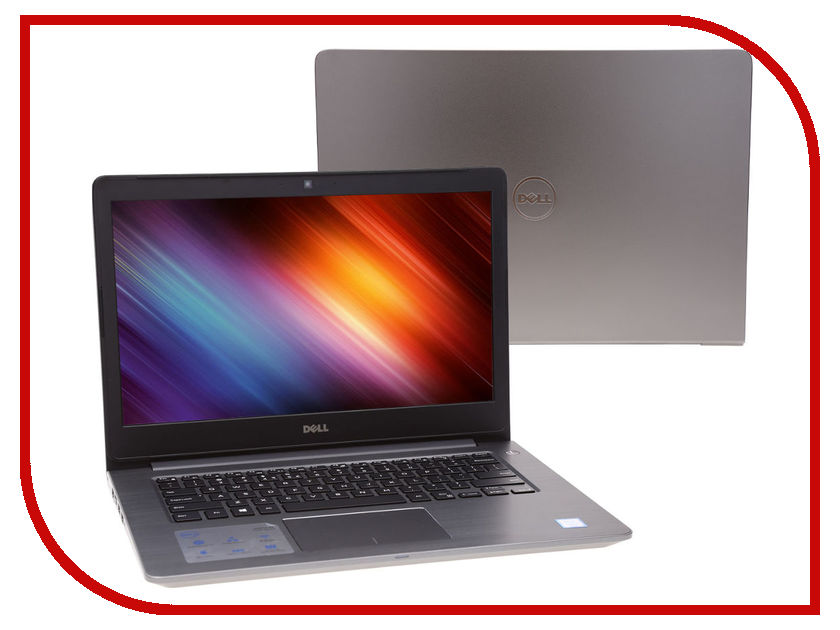 Ноутбук Dell Vostro 5468 5468-2853 (Intel Core i5-7200U/4096Mb/500Gb/Intel HD Graphics/Wi-Fi/Bluetooth/Cam/14.0/1366x768/Windows 10 64-bit)<br>