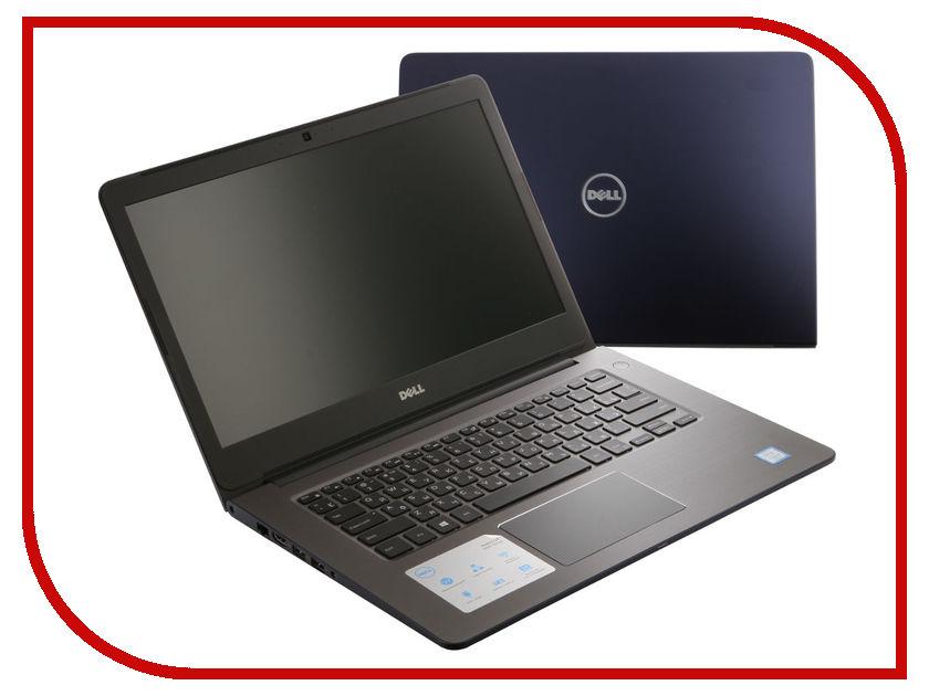Ноутбук Dell Vostro 5468 5468-2969 Intel Core i5-7200U/4096Mb/500Gb/nVidia GeForce 940MX 2048Mb/Wi-Fi/Bluetooth/Cam/14.0/1366x768/Windows 10 64-bit<br>