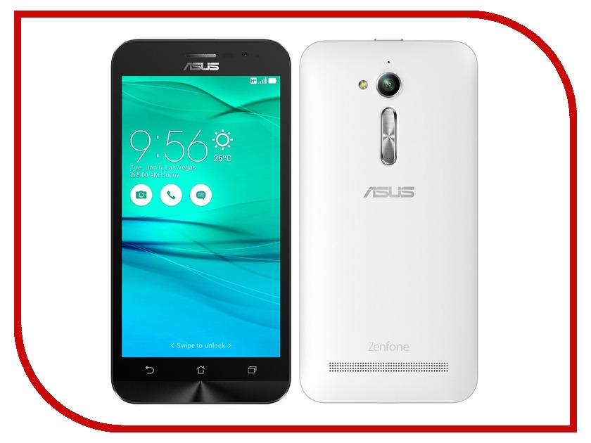 Сотовый телефон ASUS ZenFone Go ZB500KG 8Gb White сотовый телефон asus zenfone go zb450kl 8gb yellow