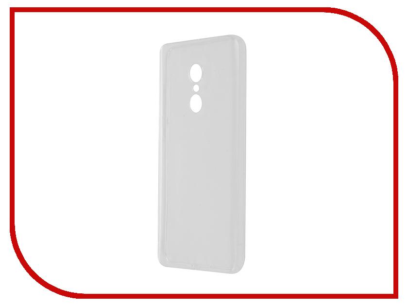 Аксессуар Чехол Xiaomi Redmi Note 4 SkinBox Slim Silicone Transparent T-S-XRN4-006<br>