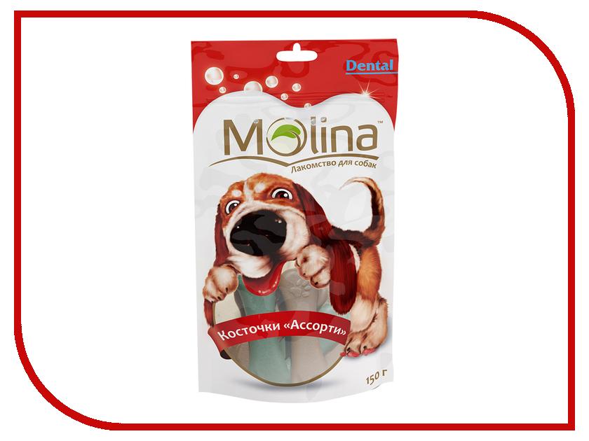 Лакомство Molina Косточки Ассорти 150g для собак 1464 абрикосовые косточки в пензе
