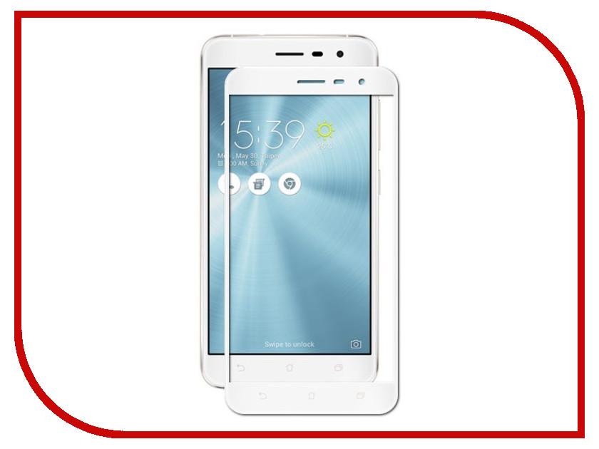 Аксессуар Защитное стекло для ASUS ZenFone 3 5.5 ZE552KL CaseGuru 0.3mm White 87679 аксессуар чехол asus zenfone 3 ze520kl caseguru коллекция минимализм рис 5 89355
