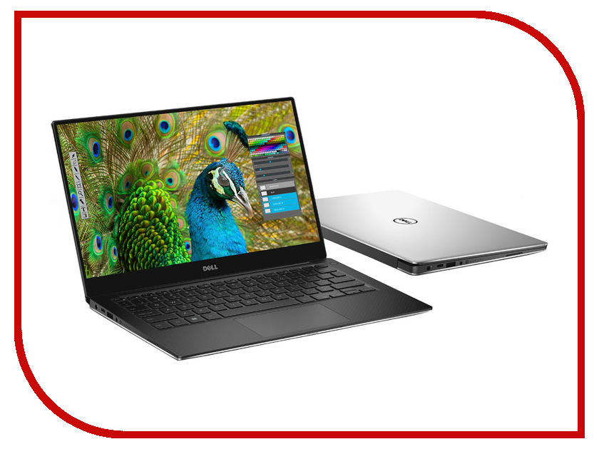 Ноутбук Dell XPS 13 9360-3607 (Intel Core i7-7500U 2.7GHz/8192Mb/256Gb SSD/No ODD/Intel HD Graphics/Wi-Fi/Bluetooth/Cam/13.3/3200x1800/Touchscreen/Windows 10 64-bit) smile wm 3607 вафельница купить
