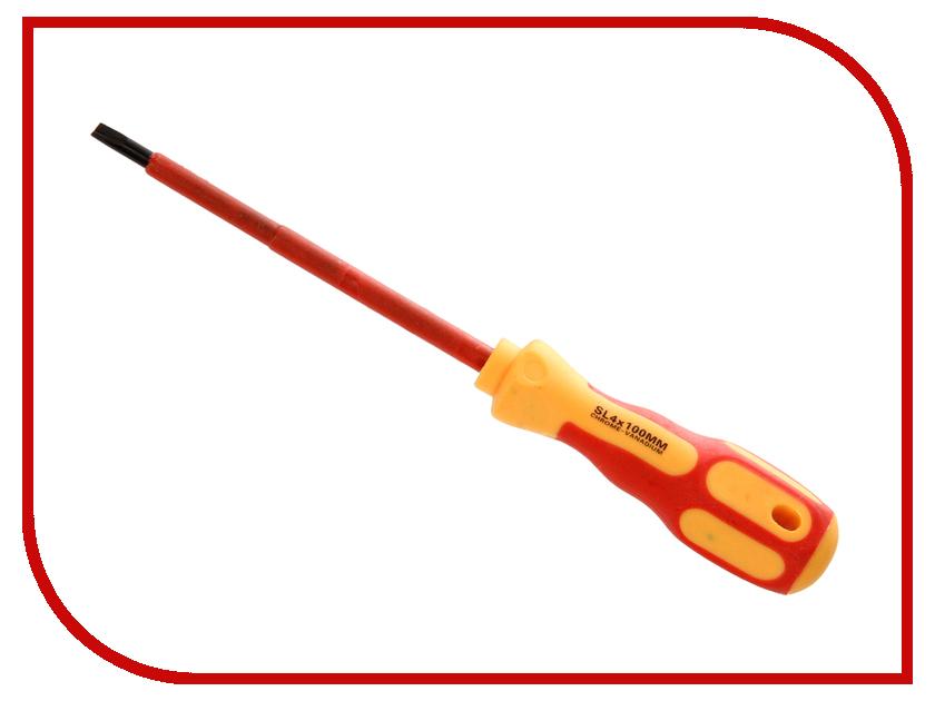 Отвертка Rexant SL4x100mm 12-4712 нож rexant 12 4909