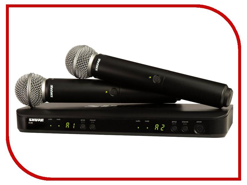 Радиомикрофон SHURE BLX288E/SM58<br>