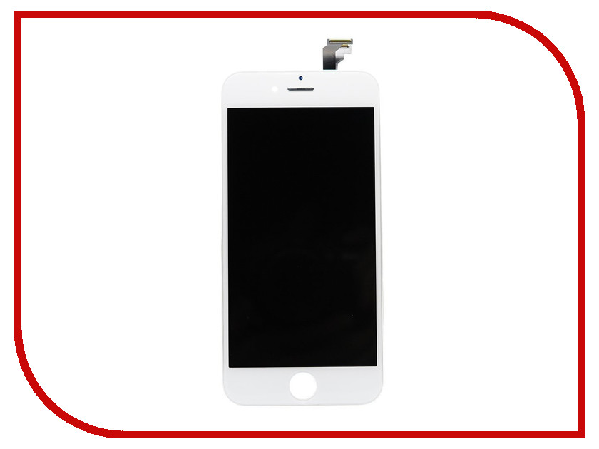 Дисплей Monitor LCD for iPhone 6 White 17 3 hd led laptop lcd screen for gateway ne72219u notebook replacement display
