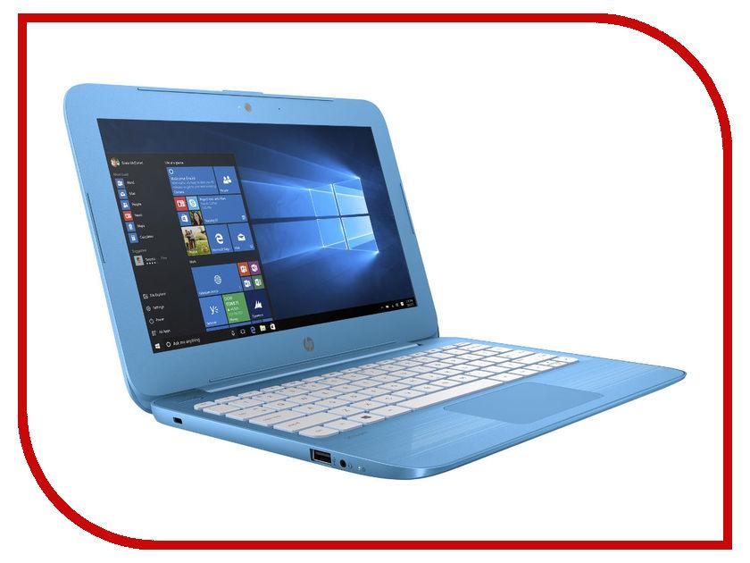 Ноутбук HP Stream 11-y004ur Y7X23EA (Intel Celeron N3050 1.6 GHz/4096Mb/32Gb SSD/No ODD/Intel HD Graphics/Wi-Fi/Bluetooth/Cam/11.6/1366x768/Windows 10 64-bit)