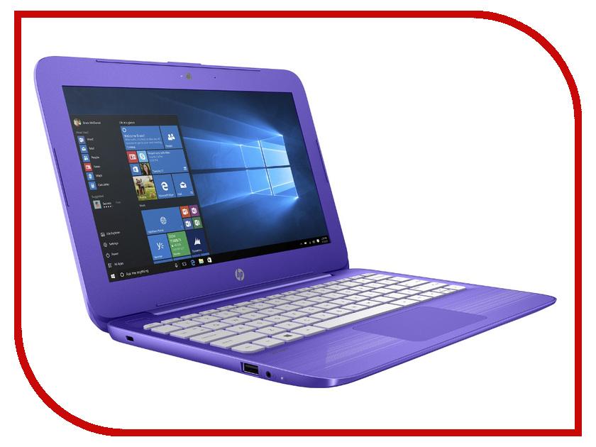 Ноутбук HP Stream 11-y005ur Y7X24EA (Intel Celeron N3050 1.6 GHz/4096Mb/32Gb SSD/No ODD/Intel HD Graphics/Wi-Fi/Bluetooth/Cam/11.6/1366x768/Windows 10 64-bit)