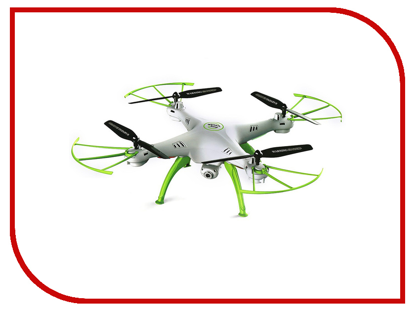 Квадрокоптер Syma X5HW White syma x5hw квадрокоптер с барометром видеокамерой wi fi