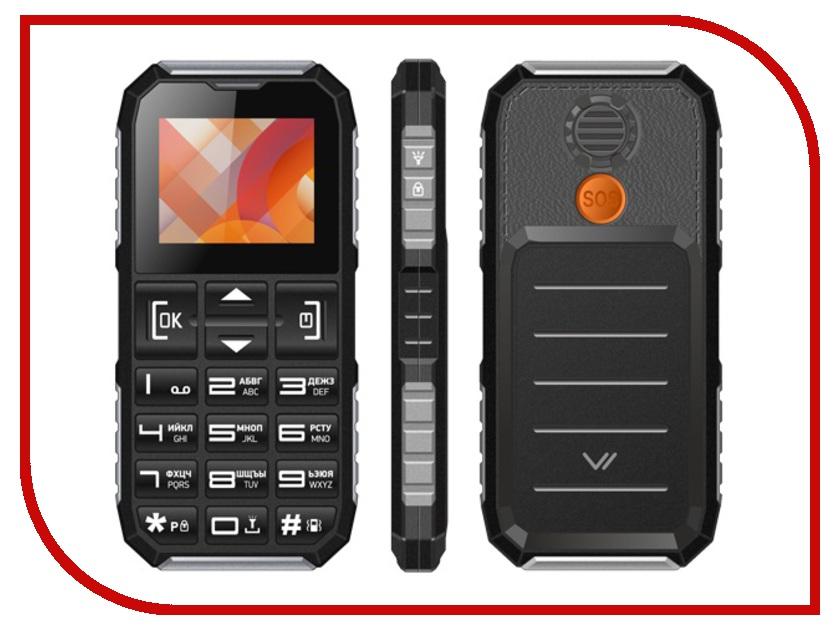 Сотовый телефон Vertex C307 Black-Silver