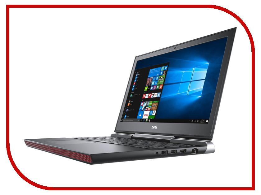 Ноутбук Dell Inspiron 7566 7566-9647 Intel Core i5-6300HQ 2.3 GHz/8192Mb/1000Gb/nVidia GeForce GTX 960M/Wi-Fi/Bluetooth/Cam/15.6/1920x1080/Windows 10 64-bit<br>