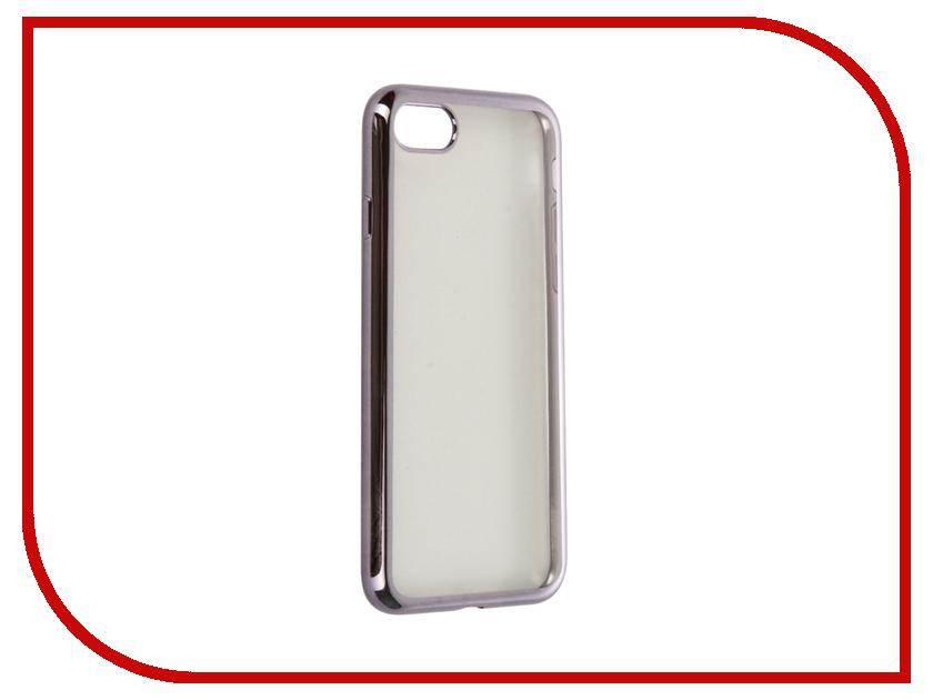 Аксессуар Чехол Zibelino Ultra Thin Case для APPLE iPhone 7 Silver ZUTC-IPH-7-SLV-BMP<br>