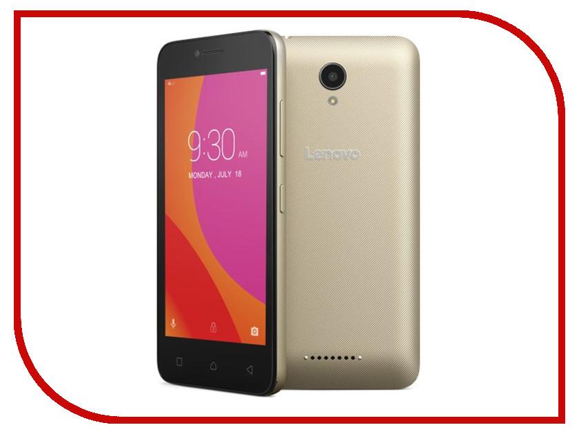 Сотовый телефон Lenovo A2016 Vibe B (A2016a40) Gold