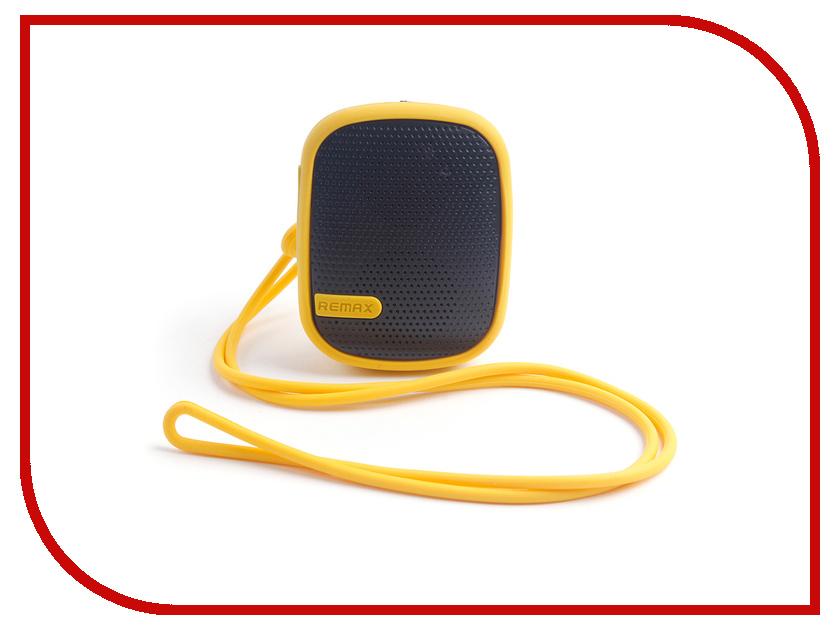 Колонка Remax RB-X2mini Yellow 09008<br>