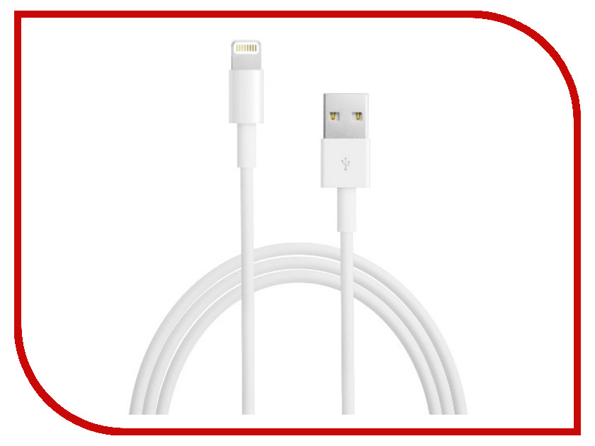 Аксессуар iQFuture Lightning to USB 2.0 Cable for iPhone 5S/5C/5/iPad Air/iPad 4/iPad mini 2 Retina/iPad mini/iPod Touch 5th/iPod Nano 7th IQ-AC01-NEW White hengjia ae41 iph in ear stereo earphone w microphone for iphone ipad ipod black