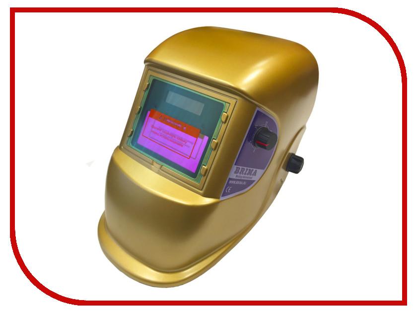 Маска сварщика BRIMA Optima Хамелеон Gold НВ-1492<br>