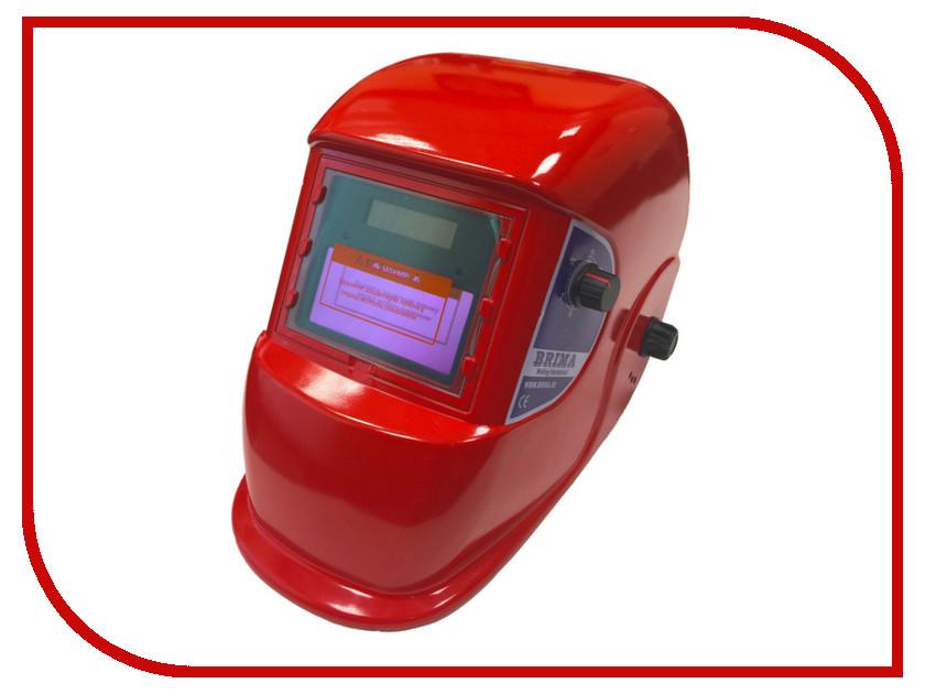 Маска сварщика BRIMA Optima Хамелеон Dark Red НВ-1492 в коробке
