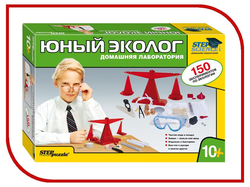 Настольная игра Step Puzzle Юный эколог 76303 игра step puzzle юный парфюмер 76307