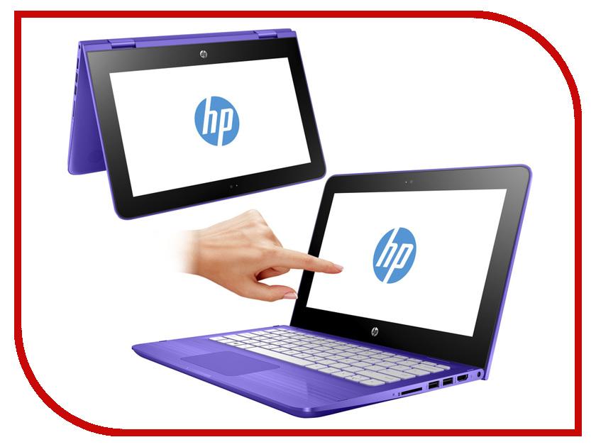 Ноутбук HP Stream x360 11-ab005ur Y7Y55EA (Intel Pentium N3710 1.6 GHz/4096Mb/500Gb/Intel HD Graphics/11.6/1366x768/Touchscreen/Windows 10 64-bit)<br>