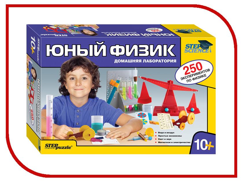 Игра Step Puzzle Юный физик 76093 игра step puzzle юный парфюмер 76307