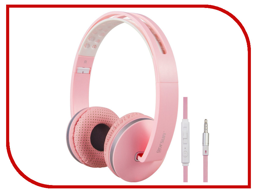 Гарнитура Gorsun GS-785 Pink 08693<br>