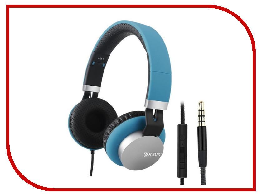 Гарнитура Gorsun GS-789 Blue 08568<br>