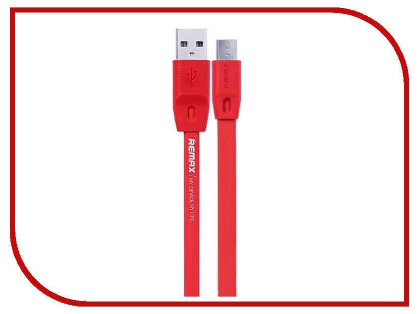 Аксессуар Remax microUSB Full Speed 1m Red 14200<br>