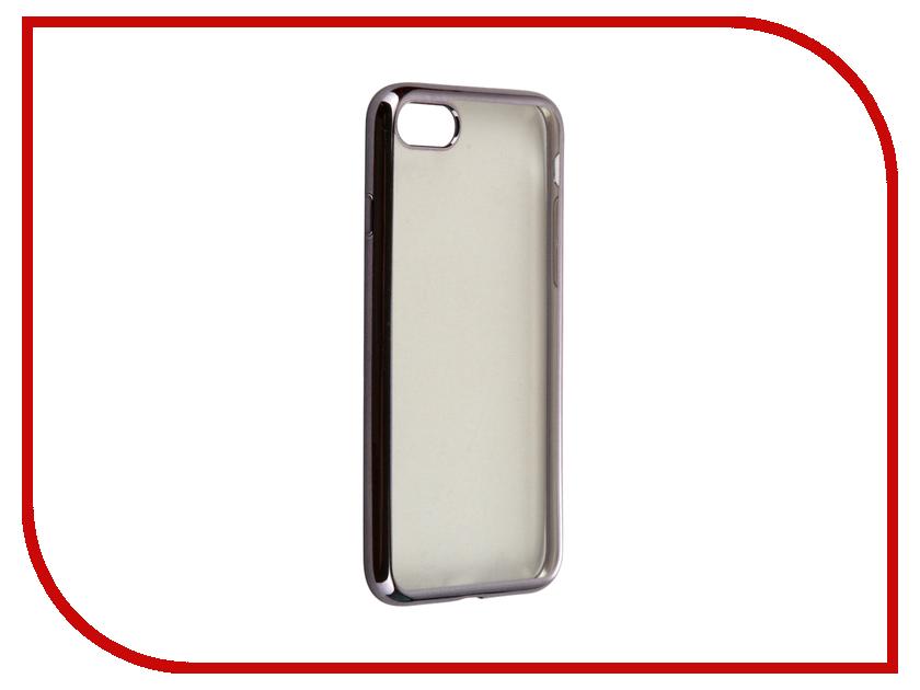 Аксессуар Чехол Krutoff Silicone для APPLE iPhone 7 Black 11781<br>