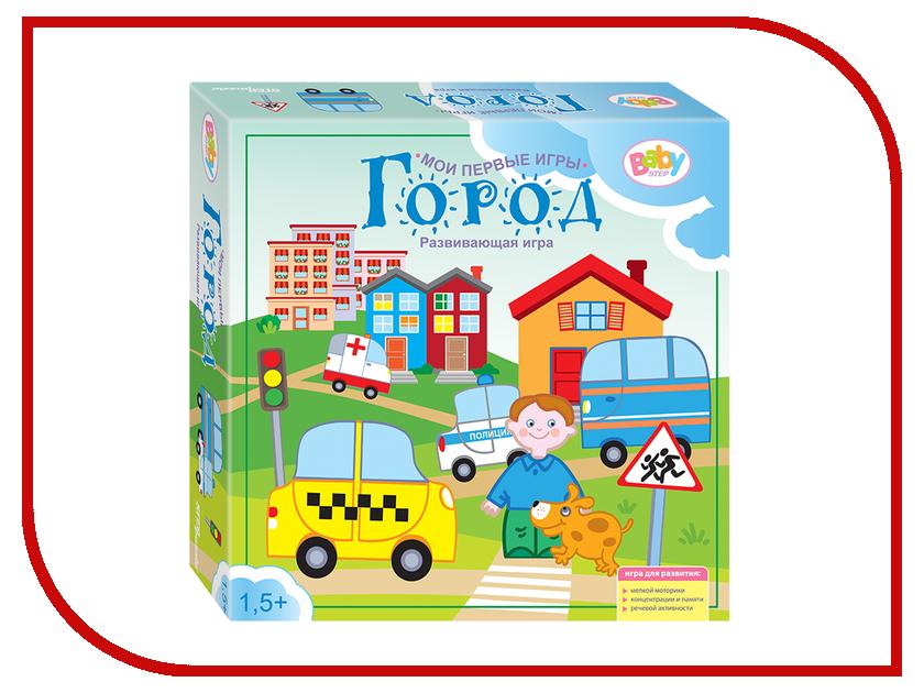 Настольная игра Step Puzzle Город 89804 игра step puzzle юный парфюмер 76307