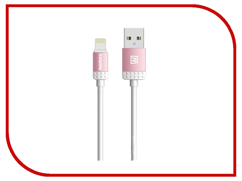 Аксессуар Remax Lovely для iPhone 6/6 Plus 1m Pink 14281
