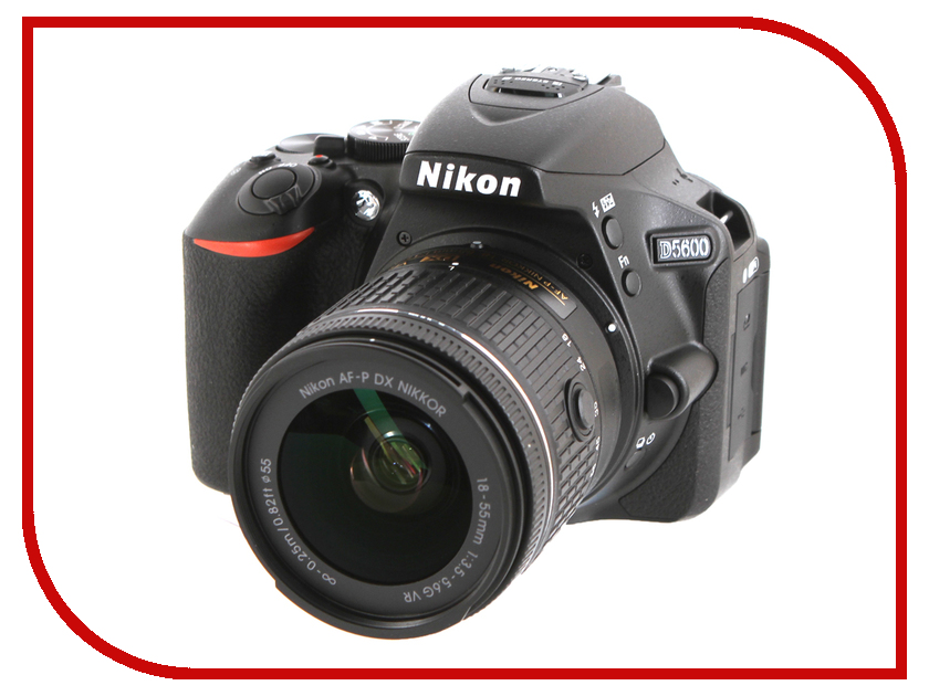 Фотоаппарат Nikon D5600 Kit 18-55 mm AF-P DX VR цена и фото