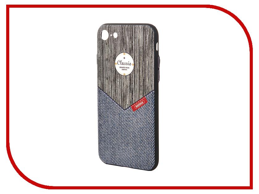 Аксессуар Чехол Remax Sinche для iPhone 7 Grey Jeans 47037<br>