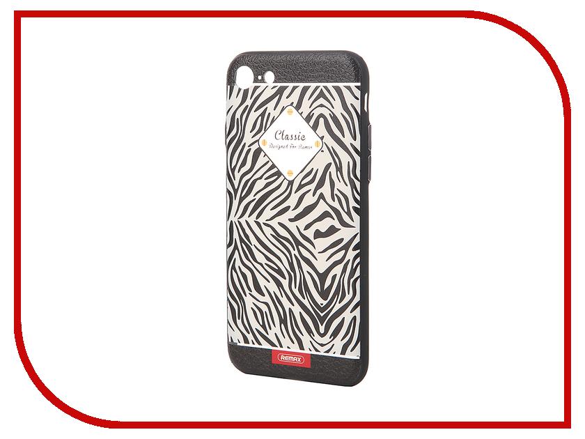 Аксессуар Чехол Remax Sinche для iPhone 7 White-Black 47038