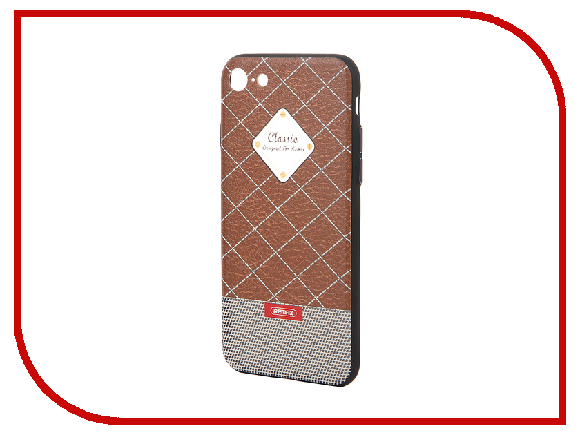 Аксессуар Чехол Remax Sinche для iPhone 7 Brown 47040<br>