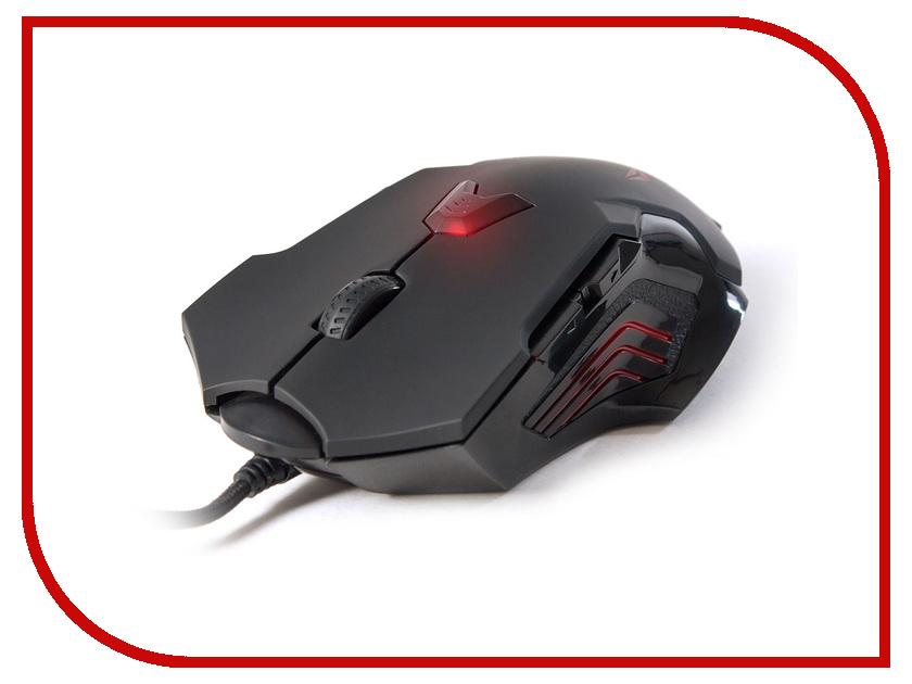 Мышь проводная Delux DLM-811LUB / M-811 USB Black<br>