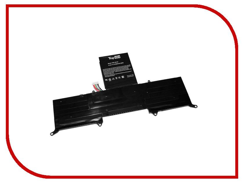 Аккумулятор TopON TOP-AC-S3 Black для Acer Aspire S3/S3-951 Ultrabook/Acer Aspire S